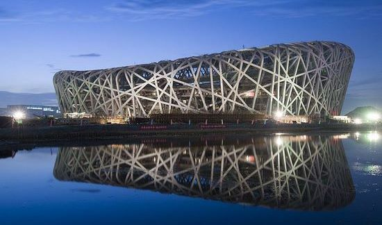 معماری جالب - استادیوم آشیانه پرنده چین
