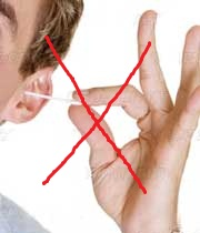 تمیز کردن گوش با گوش پاکن