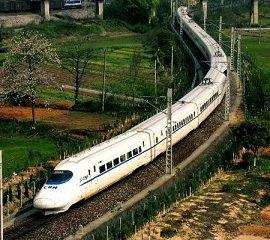 سریعترین قطار جهان چین